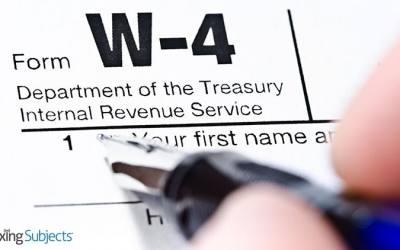 IRS Releases Reworked Form W-4